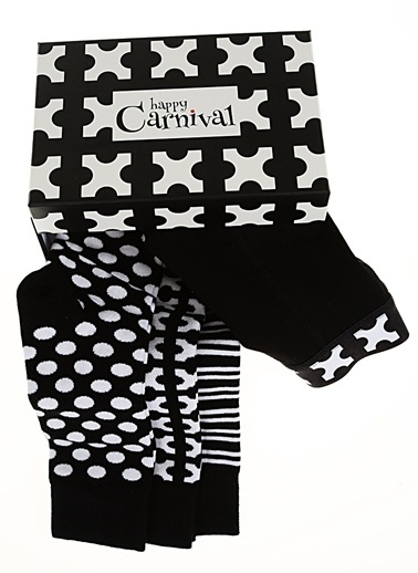 3 Çorap -1 Boxer Set-Happy Carnival